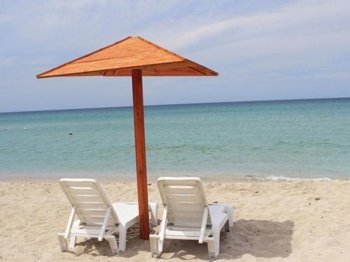 Пляжи Оленевки Крым