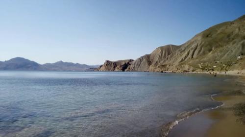 Пляжи Орджоникидзе Крым