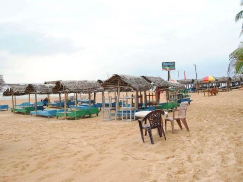 пляж отеля ritas hotel