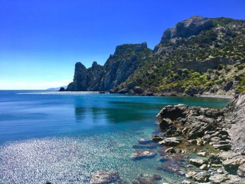 Пляжи Нового Света Крым