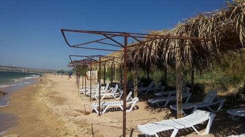 Пляжи Щелкино Крым