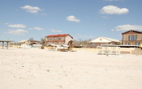 Пляж штормовое крым
