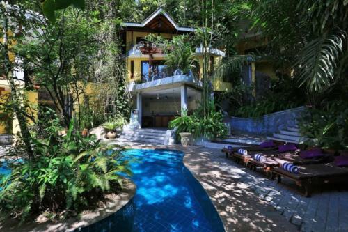 Thambapanni Retreat бассейн