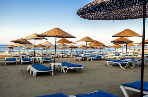 Гарден Бич Отель 5* пляж
