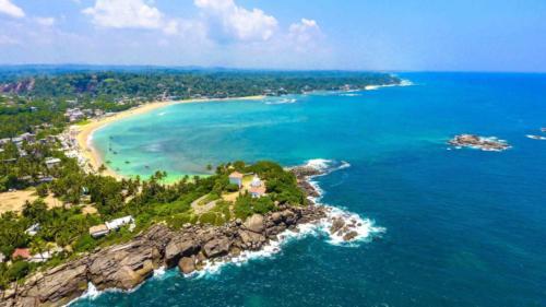 Пляж Унаватуны Шри Ланка